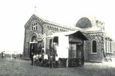 Década de 30 - Paróquia Nossa Senhora Aparecida, no bairro de Moema. Foto de Carlheinz Hahmann.