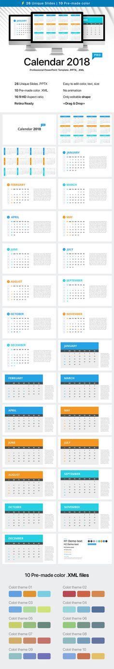 November 2016 PowerPoint Calendar - PresentationGO Template