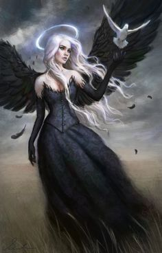 Black Angel by Selenada.deviantart.com on @deviantART