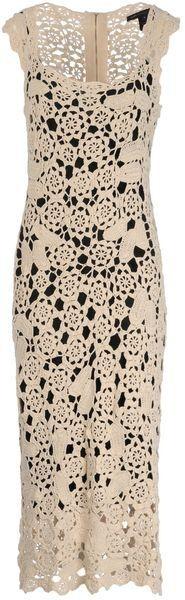 Chorrilho de ideias: Vestido comprido verão em crochet