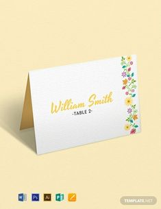 Instantly Download Free Multi Place Wedding Name Card Template, Sample & Example in Microsoft Word (DOC), Adobe Photoshop (PSD), Adobe InDesign (INDD & IDML), Apple Pages, Adobe Illustrator (AI), Microsoft Publisher Format. Available in 2.25x3.5 inches + Bleed. Quickly Customize. Easily Editable & Printable.
