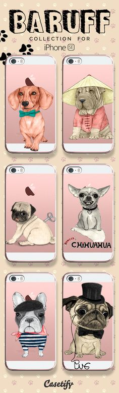 For dog lovers! Take a look at these cases featuring dogs designed by @barruf now! https://www.casetify.com/artworks/GYrBarmsiD   @casetify