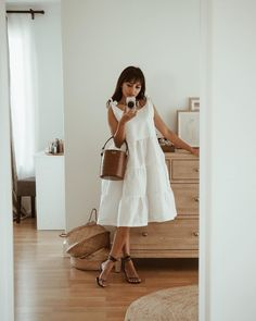 Cute Outfits With Shorts, Pretty Outfits, Casual Outfits, Spring Summer Fashion, Spring Outfits, Minimal Fashion, Casual Chic, Fashion Dresses, Style Inspiration