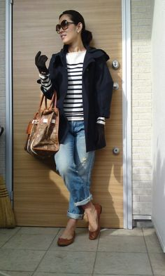 冬のマリン : ファッションエディター大草直子の「情熱生活」