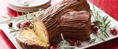 Make this Yule log cake (a French classic) a family tradition during the holidays.