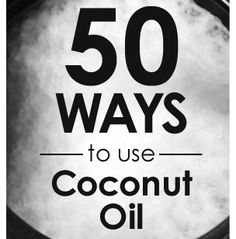 Scientific research on coconut oil has revealed health benefits that affect your entire body, inside and out. You've heard good things about it and now you have a tub of it sitting in your pantry. So how do you use coconut oil? We asked our Facebook fans and coworkers how they use coconut oil. Here are some of the numerous ways coconut oil is used.