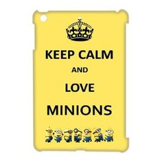 Despicable Me iPad Mini Covers Ipad Mini Cases, Ipad Case, Diy Case, Cool Iphone Cases, Despicable Me, Keep Calm And Love, Minions, Cool Things To Buy, Cool Designs