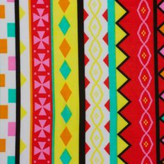 Cali Fabrics - Red and Yellow Tribal ITY Jersey Knit Print, $7.49 (http://www.califabrics.com/red-and-yellow-tribal-ity-jersey-knit-print/)