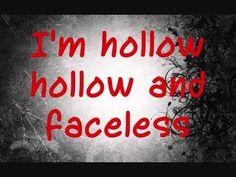 RED- Faceless (Lyrics)