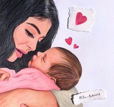 - You are in the right place for Pregnant women to say that you are here . - – You are in the right place for Pregnant women to say that you are here … – - Mother And Daughter Drawing, Mother Art, Cute Couple Art, Cute Couples, Daughter Love Quotes, Girly M, Bff Drawings, Baby Clip Art, Baby Drawing