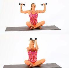 Transformar y eliminarla grasa extra no es tarea fácil.Con estos ejercicios te vas a deshacer de la que tengas en brazos y abs. Descubre cómo acá