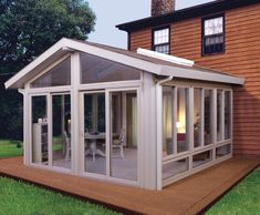 Glass Room Deck | Sunrooms And Patio Enclosures For All Seasons