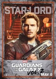 Guardiani della Galassia Vol. 2: i character poster dal film!