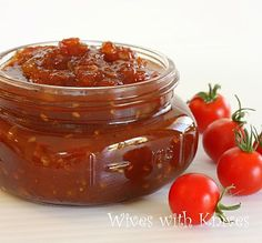 Tomato Jam ~ A delicious way to use summer tomatoes   Wives with Knives
