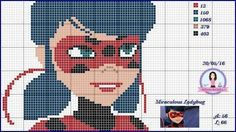 blog sobre ponto cruz e artesanatos. Disney Cross Stitch Patterns, Cross Stitch Charts, Chibi Girl Drawings, Picture Ornaments, Stitch Doll, Stitch Cartoon, Ladybug Anime, Lady Bug, Loom Beading