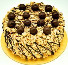 Nutty fantasy cake! Hazelnut Royaltine brought to you by Marquise Patisserie Chocolaterie in Bangsar Shopping Centre, Malaysia.