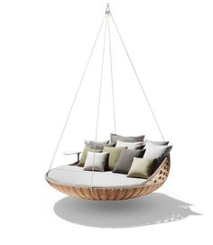 The Swingrest by Daniel Pouzet is Sophisticated and Cozy #bedroom #beds trendhunter.com