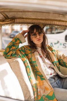 Estilo Boho, Look Fashion, Womens Fashion, Fashion Design, Quilted Clothes, Mode Inspiration, Boho Hippie, Dress To Impress, Autumn Winter Fashion