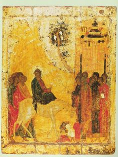 Painting by Andrei Rublev.