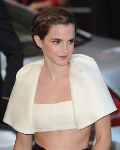 La tresse délicate d'Emma Watson