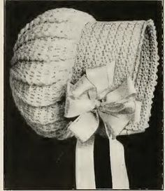 Free Crochet Pattern: Baby Bonnet: Grandmother's Pattern Book Sharing Links and Patterns Every Day!