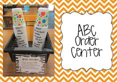 ABC order center | The Book Bug