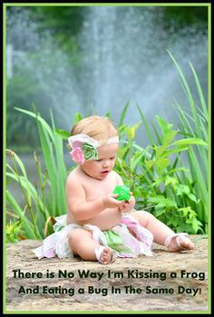 Princess and the frog baby pic