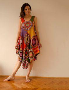 Women's Dress/Tunic  Light Silky Cotton por subrosa123 en Etsy