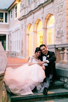 cristina and manny : wedding at the blithewold mansion - Megan Braemore Photography
