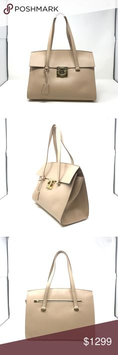 ee32ecf955af Salvatore Ferragamo 'MARA' Shoulder Womens Bag This is brand new with  defects. Salvatore