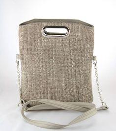 Kabelky - kabelka Elen šedá