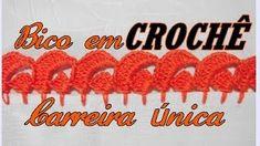 Barrado Croche Carreira Unica por Tere Maria   Cantinho do Video