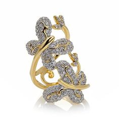 "Victoria Wieck 2.55ct Absolute™ ""Butterflies"" Ring"
