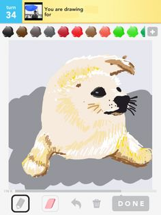 seal drawing from Draw Something