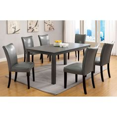 Davao Parson Leatherette 2-piece Dining Chairs Set | Overstock.com