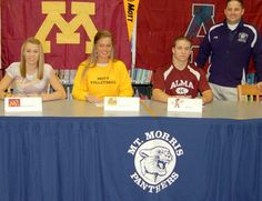 Mt. Morris athletes sign letters of commitment