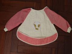 SALE 20% ---- Water proof bib with sleeves