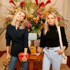 Sara and Erin Foster hosted a private cocktail party for Leatherology at the Beverly Hills Hotel last night in Los Angeles. Beverly Hills Hotel, The Beverly, Sara Foster, West Coast, The Fosters, Your Photos, Celebs, Beautiful Ladies, Pants