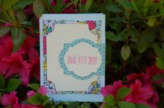 Layered Floral $3.50 https://www.etsy.com/shop/RockPaperCandyCards