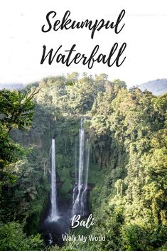 Sekumpul Waterfall is undoubtedly one of the most beautiful waterfalls in Bali. It can be tricky to get though, check out this guide to make sure you don't make the same mistakes we did.