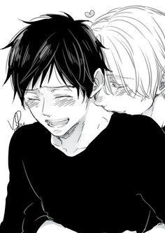 Viktor and Yuuri.