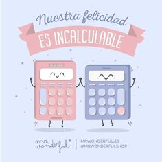 Aunque cada día cuenta… Our happiness is incalculable. But every day counts… #mrwonderfulshop #quotes #happiness