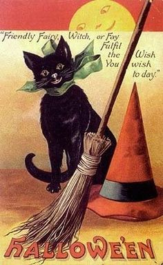 Reminds me of my sweet Grandma who still sends us vintage cards like this :)