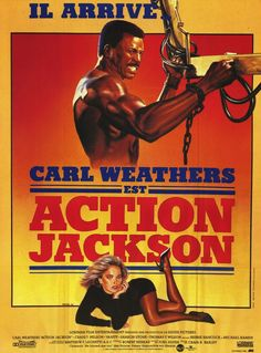 Action Jackson (French) 27x40 Movie Poster (1988)