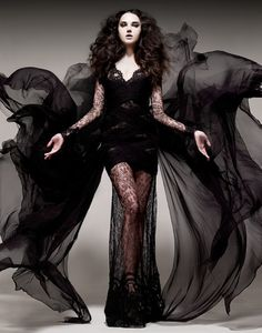 if i could, my whole wardrobe would be haute supervillainess dresses.