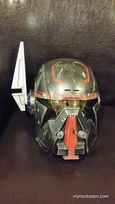 Exalted Bounty Hunter (Shae Vizla) Helmet - Star Wars: The Old Republic on Etsy, $225.00