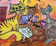 gravuras de gatos - Pesquisa do Google