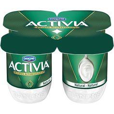 Danone Activia Natural Yogurt