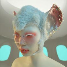 Arte Fashion, Le Clown, Fantasy Makeup, Retro Futurism, Grunge Style, Creative Makeup, Face Art, Aesthetic Art, Makeup Art