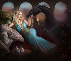 Mother of Dragons by maril1 - #GameOfThrones #GoT #Daenerys #Khaleesi #JonSnow #GotArt #GameOfThronesArt #DaenerysTargaryen #Daenerys #Targaryen #MotherOfDragons #Dany #EmiliaClarke #KitHarington #GameOfThronesFamilly #GoTFamily #GoTPage #GoTFanPage #GotFanArt #Winterfell #Westeros #Ironthrone #asoiaf #ASongOfIceAndFire #Dragon #Dragons #Drogon #Rhaegal #Viserion #ThronesDragons